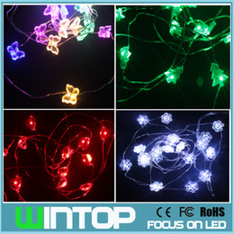2m20leds led string christmas lights with battery box white snowflakered heartgreen treergb butterfly for holiday lights on string string lights from