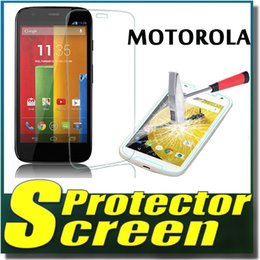 Wholesale Iphone G Screen Protector - 9H Explosion Proof Premium Tempered Glass Screen Protector Protective Film For Motorola G G2 G3 X2 X Play E E2 iPhone 6 6S 6 Plus MOQ:100pcs
