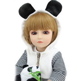 Wholesale Dolls Bjd For Sale - Ball Jointed Dolls For Sale Hard Plastic SD BJD Realistic Baby Doll 18inch 45CM Waterproof Fake Babies Can Bathe Boneca Reborn