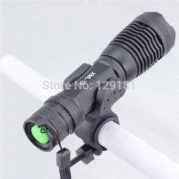 Wholesale Ultrafire Holder - Ultrafire CREE XM-L T6 2000 Lumens 5 Mode Zoomable Adjust Led Mini Flashlight Bike Light Torch LED Lamp with Mount Holder