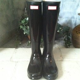 Wholesale High Quality Winter Boots - Best Selling Women Rain Boots Top Quality Rainboots Wellies Women High Boots Waterproof H Brand Rubber Outdoor Water Shoes
