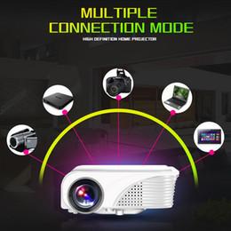 Wholesale Mini Pc Av - S320 1800 Lumens Mini Pico Portable LED Projector HDMI USB VGA AV PC LCD Home Theater Cinema Proyector Beamer Multimedia HD 1080P
