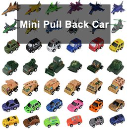 Wholesale Military Aircraft Toys - Zorn toys-Mini Pull back car Plastic car Engineering vehicles aircraft police car Military vehicles  car motorcycle model 58 style wholesale
