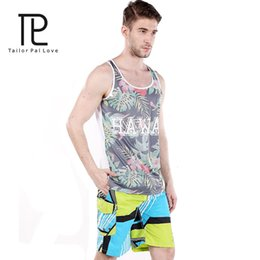 Wholesale Cheap Wholesale Mens Clothing - Wholesale-Tailo Pal Love Brand Board Shorts For Mens Beach Wear Surfing Swimming Trunks Clothng 2016 New Casual Style Cheap Man Clothes