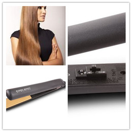 "Wholesale Ceramic Hair Straightener Retail - Hairstyling Flat Iron Pro 1"" Ceramic Ionic Tourmaline Flat Iron Hair Straightener Brushes with Retail Box"
