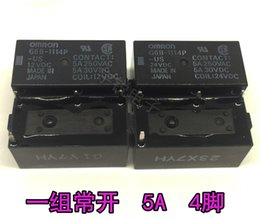 Wholesale Omron Power Relay - Omron Power Relay G6B-1114P-US-DC5 DC12 DC24 G6B-1114P-FD-US-24VDC (10 Pieces Lot)