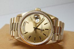 Orologio da donna in oro 18kt da uomo in oro 18kt con quadrante in argento con diamanti, 3638 orologio da uomo automatico SANT BLANC da guarda i venditori fornitori