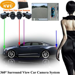 Wholesale Car Parking Aids - 360 degree around view bird's-eye view car camera parking aid system with DVR function for Cadillac XTS