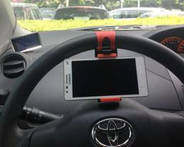Iphone7 Için araç Tutucu evrensel Araç Direksiyon Tutucu Smartphone Mounts Tutucular iphone 7 Samsung Smartphone GPS Kamera nereden