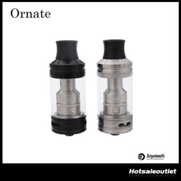 Wholesale Authentic Joyetech ORNATE Atomizer with ml e Liquid Capacity Ornate Tank Compatible with MGS Triple Coil Head Original