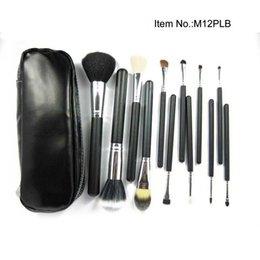 Wholesale Makeup Brushes 12 Pieces - Free Gift!!!HOT NEW Makeup Brushes 12 piece Professional Brush sets black package 30pc