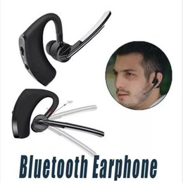 Wholesale Voyager Wireless - V8 Bluetooth Earphone Voyager Legend V8 Wireless V4.0 Business Stereo Headphone With Mic Ear-hook Handfree Headset For iPhone Samsung