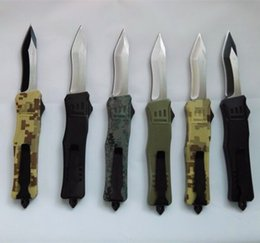 Wholesale Counter Strike - A161 no logo SOCOM Elite Counter Strike 16 models optional double action hunting Folding Knife Xmas gift for men 1pcs
