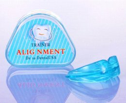 Wholesale New Dental Tooth Orthodontic Appliance Trainer Alignment Braces Mouthpieces On Sale Teeth Care appliance lowes