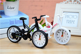Wholesale Digital Snooze Alarm Clock Bedside - creative colorfull bike shape alarm clock creative children watch pupils gifts bedside clock creative design home decorating alarm wholesale