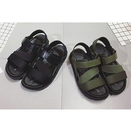 Wholesale Women Flatform Sandals - Women Beach Sandals Summer Casual Flat Shoes Flatform Shoes Roman Sandals Lady Flat Magic Joint Sandals
