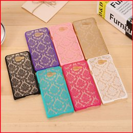 Wholesale Vintage Cases For Galaxy Grand - Vintage Damask Flower Pattern PC Case Cover for Samsung Galaxy A3 A5 A7 2016 J5 J7 Grand Prime G530 S3 S4 S5 S6 S6 Edge S7 Edge MOQ:10pcs