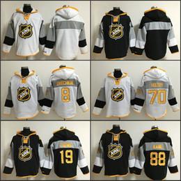 Wholesale C 19 - Men's Old Time Hockey 2016 NHL All-Satr 8 John Carlson 19 Jonathan Toews 88 Patrick Kane 70 Braden Holtby hoodie Ice Hockey Jerseys C Patch