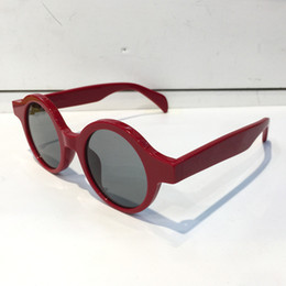 Wholesale Case Plates - Supre 0990 Sunglasses Luxury Popular Retro Vintage Men Women Brand Designer Sunglasses Shiny Gold Summer Style Laser Logo Plated With Case
