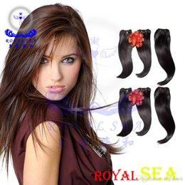 Wholesale Virgin Hair Wholesalers Usa - Royal Sea Hair Hair Extensions Usa Human Har Extension Perfumes Femininos 7A Filipino Virgin Hair Filipino Virgin Hair Straight Virgin Hair