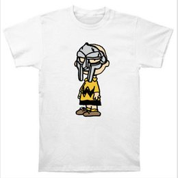 Wholesale Sleeve Tang - Wholesale-Charlie Doom Charlie Brown MF DOOM Wu Tang Madlib Madvillain Hip Hop Rap T Shirt