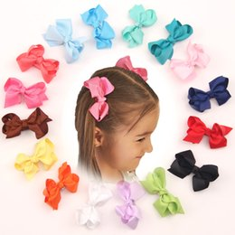 Wholesale Lace Hairclip - Baby Hair Bows With clip XMAS Bow Hair barrettes Bow Girl headwear hairclip Baby Clips Baby Alligator Clips hair clip hairpins Christmas