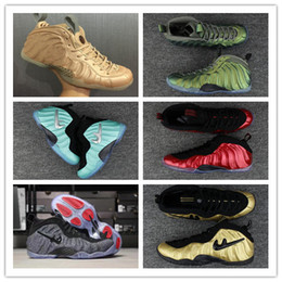 Wholesale Sky Pro - 2017 Vachetta Tan Basketball Shoes Penny Hardaway Pro Premium Mens Sport Shoes Tech Fleece WOOL Sneakers Olympic Training Sports Shoes 41-47