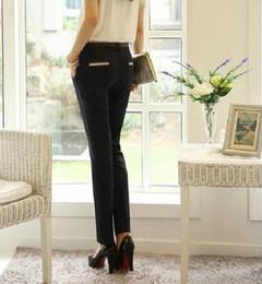 Wholesale Business Suit Women Fashion - Quality Women's Pants Plus Size Casual Long Trousers for Office Ladies business Work Khaki Color Harem Pants Suit Trousers