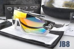 Wholesale Titanium Girl - 2017 High quality Fashion men's and women's sunglass Mountain bike glasses lens Jawbreaker sports sunglasses 3 LENS