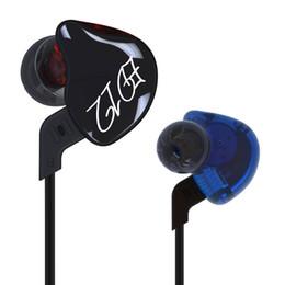 Wholesale Custom Mp4 - ortable Audio Video Earphones Headphones KZ ED12 Custom Style Earphone Detachable Cable In Ear Audio Monitors Noise Isolating HiFi Music ...