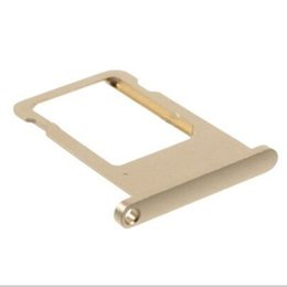 Wholesale Sim Card Slot Tray - fake iPhone SIM Card Tray Holder Slot Card tray Replacement for iphone 5s 6 plus Nano Sim Card Tray
