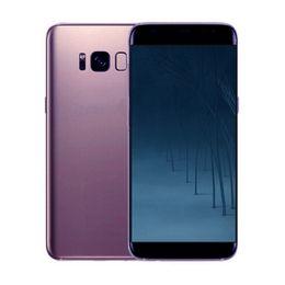 Wholesale Unlock Smart Phones - Goophone S8 S8+ 5.5inch edge cell phones MTK6580 Octa Core Show 4G LTE 4G RAM 64GB Android 7.0 Unlocked Smartphones