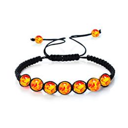 Wholesale Gem Weave - 2018 Gem Stone Weaving Bracelets Tiger's Eye Bangles Fashion Charm Jewelry Yoga Energy Bracelet Bangles Unisex 8mm Beaded Bracelet