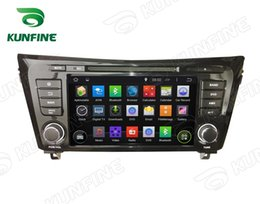 Wholesale Dvd Stereo Navigation Nissan - Quad Core 1024*600 Screen Android 5.1 Car DVD GPS Player Navigation Player for NISSAN QashQai X-Trail 2014 Bluetooth Steering Wheel Control