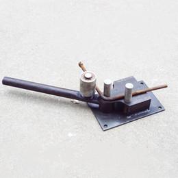Freies Verschiffen neue manuelle verstärkte Stahlstange Biegewerkzeuge Rebar Biegemaschine Bauwerkzeuge leichte Biege gut viele Form von Fabrikanten
