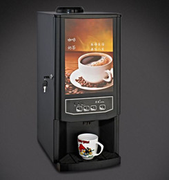 Wholesale Drink Dispenser Machine - 220v 110v Instant Coffee machine automatic commercial hot coffee maker automatic drink dispenser beverage machine free shipping