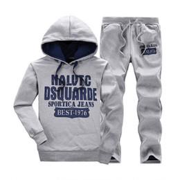 Wholesale Men Leisure Tracksuit - 5XL, New Mens Casual Hooded Sweatshirts Male Fashion Sports Suit Men Brand Sportswear Man Leisure Outdoor Tracksuit Sets