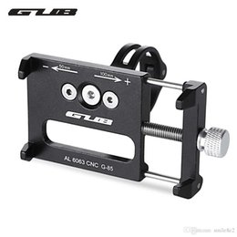 Wholesale Bicycle Bike Gps - GUB Aluminum Alloy MTB Bicycle Phone Holder Support GPS For Bike Handlebar Cycling Accessories Bike Road Accessories +B