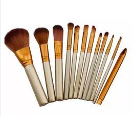 Wholesale Professional Make Up Boxes - Hot Naked 3 Professional 12 PCS Makeup brush Cosmetic Facial Make-up Brush Tools Makeup Brushes Set Kit With Retail Box