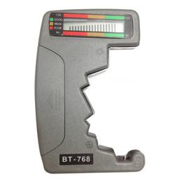 Wholesale Multi Tester Digital - Universal Battery Analyzer Mini Multi Tester Checker Check Power Level Battery 9V 1.5V Batt Digital LCD Bar Graph Display