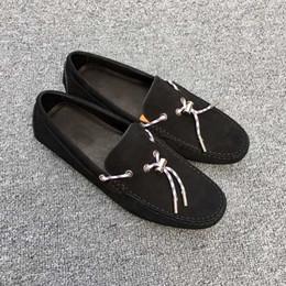 Wholesale Design Transportation - Luxury 2017 boutique men's shoes, casual shoes, design delicate, slender toe, size 38-45, rubber sole, free transportation