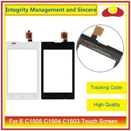 Wholesale E Sp - High Quality For Sony Xperia SP C5302 C5303 C5306 M35h E C1505 C1504 C1503 C1502 Touch Screen Digitizer Sensor Panel Front Glass Lens