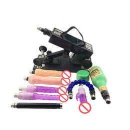 Wholesale Newest Electro Sex Toys - Newest Automatic love Machine Cannon Gun Masturbation Devices For Male And Female Electro Gear Vibrating Sex Toys Free DHL