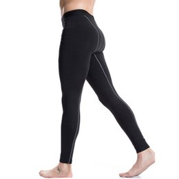 Wholesale Thermal Warm Tights - Wholesale-Men's Long Thermal Base Layer Tights Pants Evolution Plush Warm Underwear Slim Trouses H5