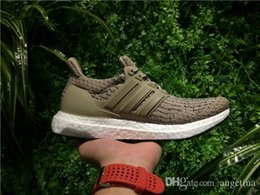 Wholesale Tracing Tables - 2017 REAL ULTRA BOOST 3.0 TRACE KHAKI CG3039 SPORTS RUNNING SHOES ,TRIPLE BLACK WHITE GREY OREO BOOST 350 V2 ZEBRA UB SNEAKERS