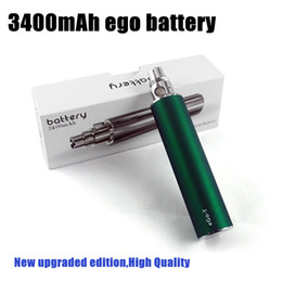 Deutschland Hochwertiger eGo 3400 mAh Variable Voltage Akku mit hoher Kapazität 3200mah gegen Ego II 2200 mAh Dampf für elektronische Zigaretten Ego Mods Zerstäuber Versorgung