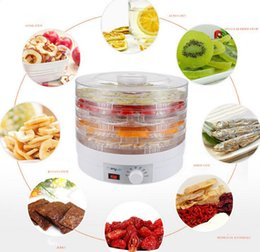 Wholesale Fruit Dryer - 1 piece set Household dried fruit machine Fruits and vegetables dehydrator dry meat food machine Snacks dryer