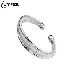 Wholesale Ordering Bracelet Cuffs Wholesale - Wholesale-Cuff Bracelet Coated Silver Plated Mesh Cuff Bracelets Bangles ( Minimum order USD10)