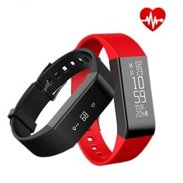 Wholesale B Email - Vidonn A6 Smart Wristbands Heart Rate Watch Sleep Monitor Fitness Tracker Waterproof IP67 Bracelet Hot for IOS&Android black Hot +B