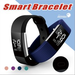 Wholesale Heart Rate Monitor For Android - F1 Smartband Smart Wristbands Sport Band Bracelet fitness tracker Calls Reminder Heart Rate Monitor IP67 Waterproof For FITBIT Alta Style